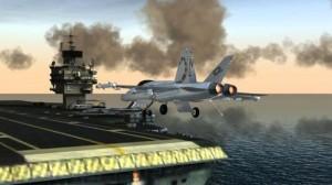 دانلود بازی اندروید شبیه ساز پرواز – F18 Pilot Flight Simulator v1.0 همراه با دیتا