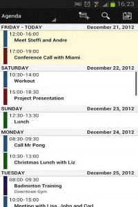 دانلود برنامه اندروید تقویم کاری Business Calendar Pro v1.4.3.0