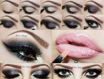 آرایش چشم,مدل آرایش چشم 2014 ,مدل سایه چشم 2014,مدل آرایش 2014,