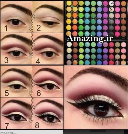 مدل سایه چشم 2014,مدل آرایش 2014, آرایش چشم 2014, آرایش چشم 94