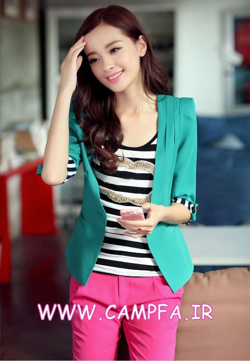 مدل کت تک دخترانه کره ای , مدل کت 93 , مدل کت تک 2014 , مدل لباس مجلسی 2014