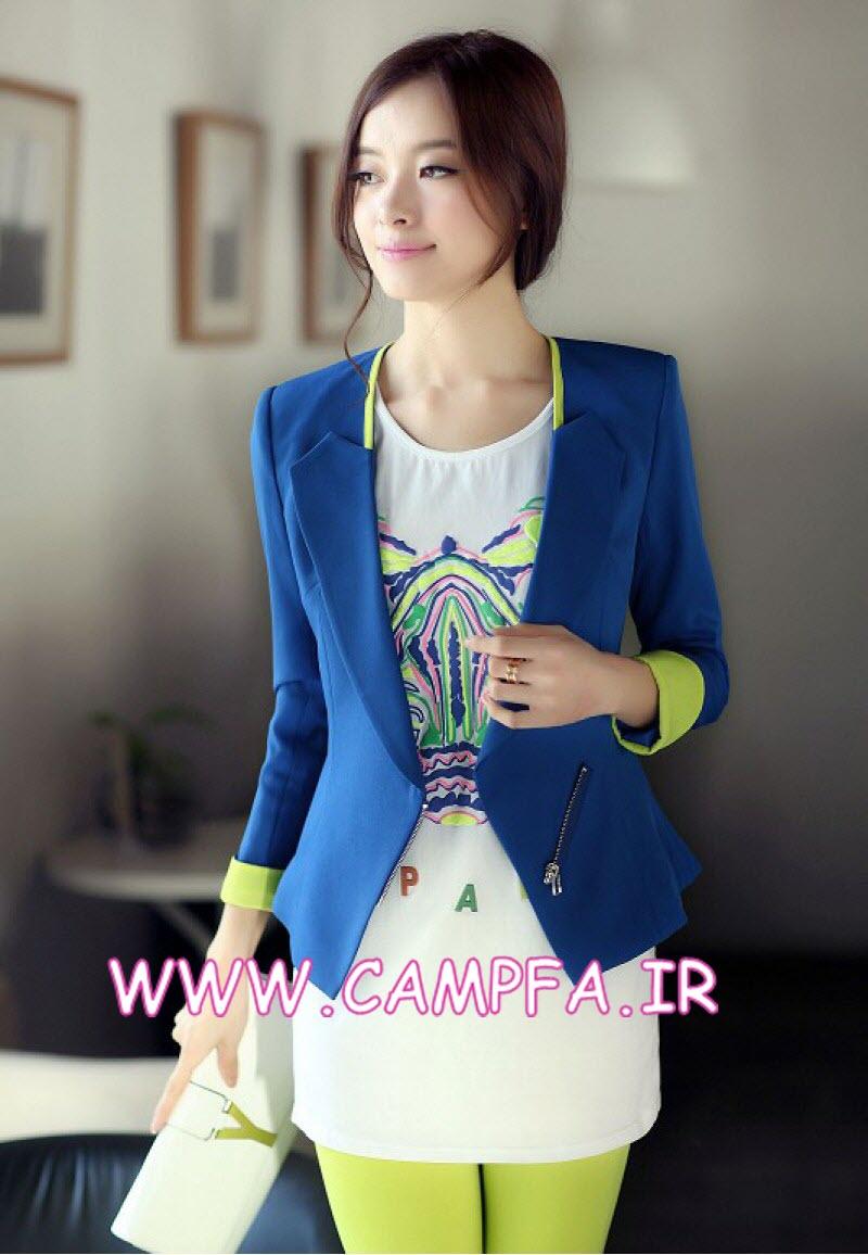مدل لباس دخترانه 2014 ,مدل کت تک 93 , مدل لباس کره ای 2014