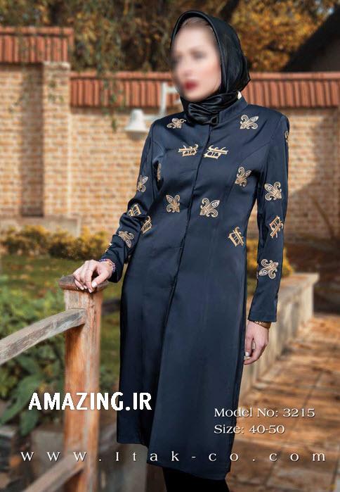 مدل مانتو مجلسی عید 93