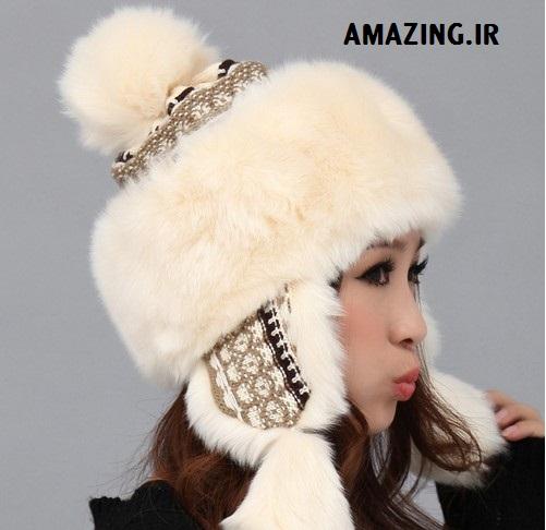 مدل کلاه خز دار , مدل لباس 2014, مدل لباس کره ای 2014, model lebas 2014