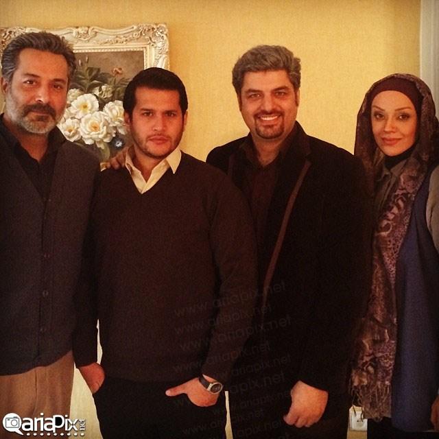عکس های بازیگران سریال آوای باران بهمن 92