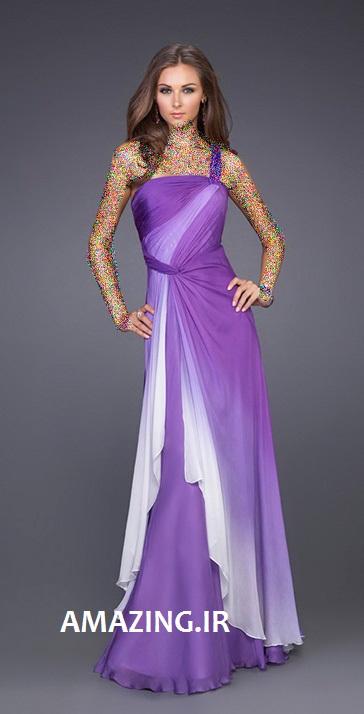 مدل لباس مجلسی رنگ سال 93