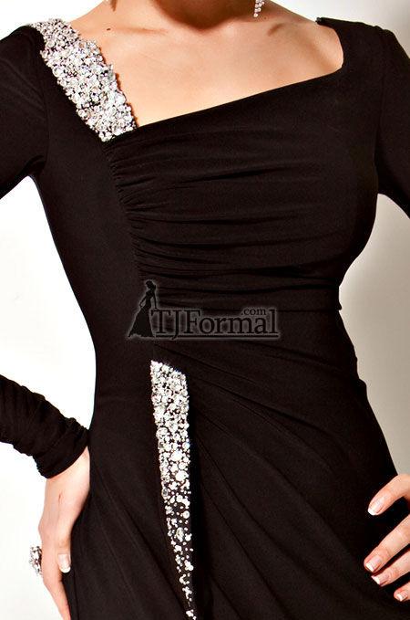 مل لباس مجلسی مشکی