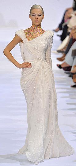 مدل لباس مجلسی سفید 93