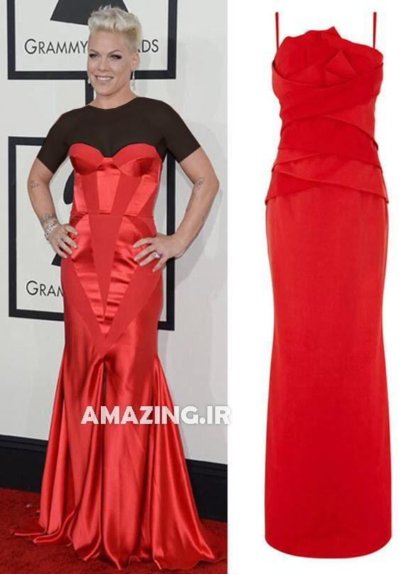 مدل لباس مجلسی,عکس های مراسم گرمی 2014,مدل لباس گرمی 2014,مدل لباس مجلسی هنرمندان