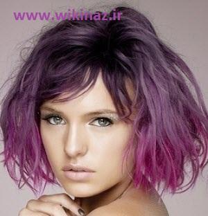 ,رنگ سال 2014 ,جدیدترین مدل رنگ مو 2014 ,مدل رنگ موی فانتزی 2014 ,شیک ترین مدل رنگ مو سال 2014 ,