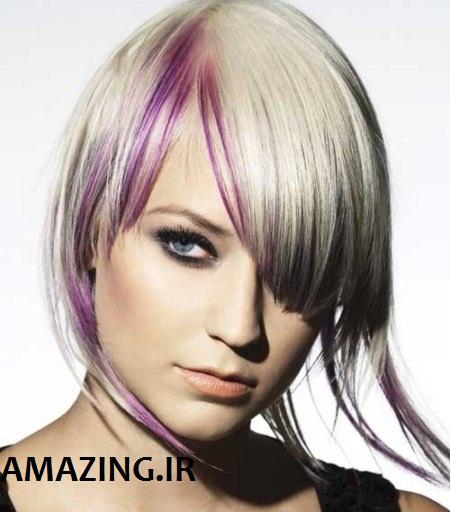 رنگ مو 2014 , مدل مو زنانه 2014