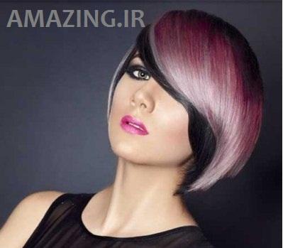 رنگ مو زنانه سال 2014