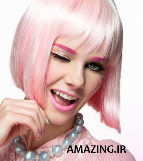 مدل رنگ مو دخترانه 2014