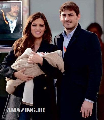 عکس ایکر کاسیاس با همسرش