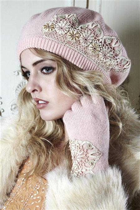 جدیدترین مدل کلاه بافتنی ,مدل کلاه بافتنی دخترانه کره ایی 2014, زیبا ترین کلاه بافتنی,مدل شال و کلاه, شال و کلاه 2014,