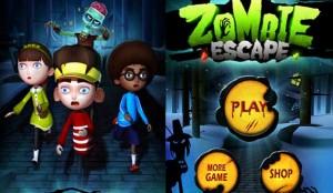 دانلود بازی جدید اندروید فرار زامبی Zombie Escape v1.2.2