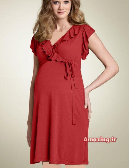 عکس مدل لباس مجلسی بارداری