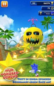 دانلود بازی جدید اندروید سونیک Sonic Dash v1.9.1