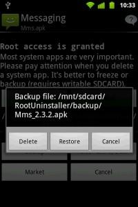 دانلود برنامه اندروید حذف برنامه سیستمی Root Uninstaller Pro v5.4