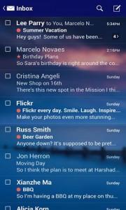 دانلود برنامه اندروید مدیریت ایمیل های یاهو Yahoo Mail v3.0.18