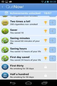دانلود برنامه اندروید ترک سیگار QuitNow! Pro – Stop smoking v4.0