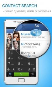 دانلود برنامه اندروید مدیریت تماس ها و مخاطبین TouchPal Contacts v4.8.2.3