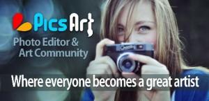 دانلود برنامه اندروید کامل ترین ویرایش عکس حرفه ای Picsart Photo studio v3.16.0