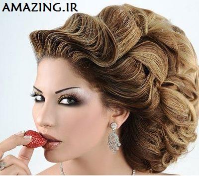 مدل مو ,  مو عروس , مو 2014 , مدل شینیون , مدل عروس , مدل موی عروس, مدل بافت مو