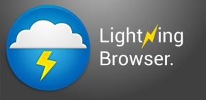 دانلود برنامه اندروید مرورگر رعد و برق Lightning Browser + v3.0.8a