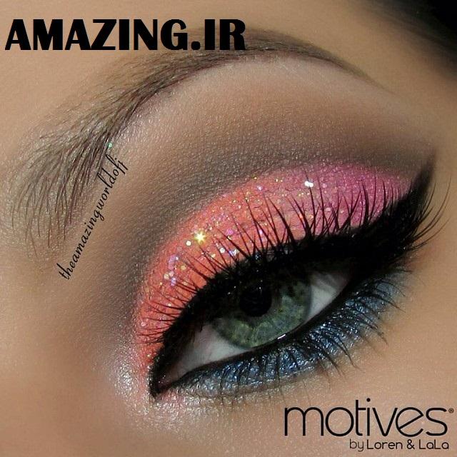 مدل آرایش چشم, مدل رژلب 2014, مدل آرایش لب 2014 ,نوروز 93 , عید نوروز 93