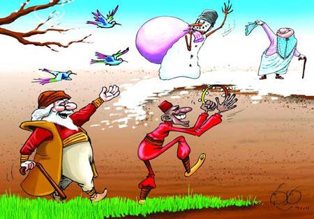 کاریکاتور ,عکس نوروز 93, کاریکاتور نوروز 93, ترول نوروز,عکس های خنده دار نوروز 93, نوروز 93, عید نوروز 93