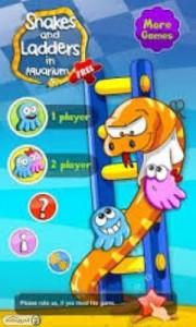 دانلود بازی جدید اندروید مار و پله Snakes & Ladders Aquarium
