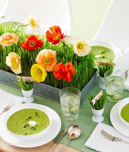 سبزه عید , تزیین سبزه ,مدل تزیین سبزه برای سفره هفت سین,مدل سبزه نوروز ,سبزه چیدمان سفره هفت سین,مدل سبزه هفت سین,آموزش مدل سبزه