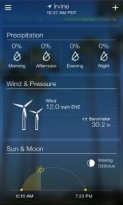 دانلود برنامه اندروید پیش بینی وضعیت آب و هوا Yahoo Weather v1.1.6