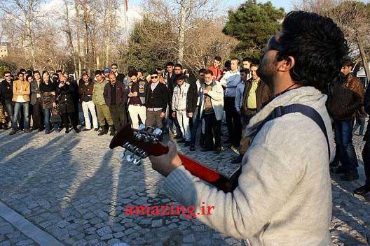 مجید خراطها,آهنگ جدید مجید خراطها,خوانندگی در خیابان
