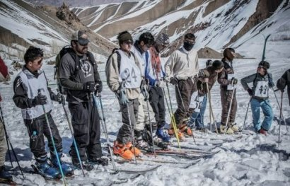 عکس های جالب , افغانستان , عکس از افغانستان, اسکی در افغانستان