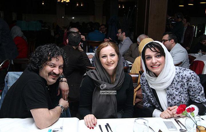 عکس های بازیگران,پژمان جمشیدی, علی ضیا  ,رضا یزدانی ,  آلبوم ساعتا خوابن رضا یزدانی