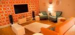 مدل دکوراسیون منزل به رنگ نارنجی جدید
