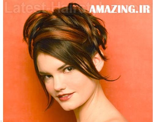 مدل مو دخترانه , مدل مو باز , مدل مو فر, مدل رنگ مو,مدل مو مجلسی