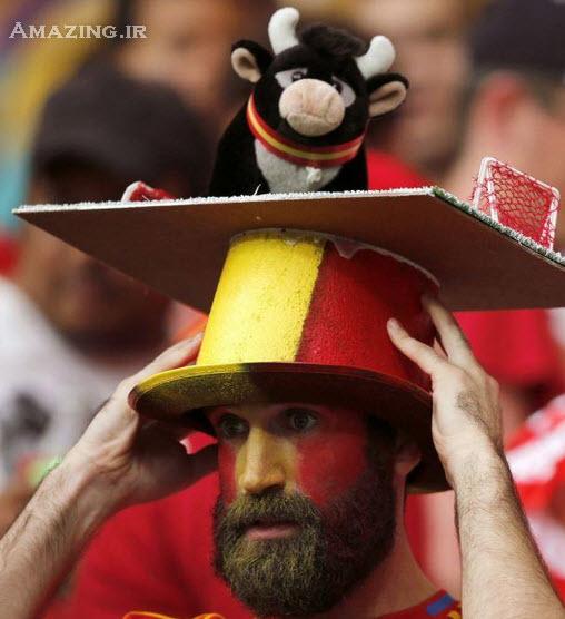 عکس های تماشاگران جام جهانی 2014 , تماشاچیان فوتبال در برزیل, عکس تماشاگران زن جام جهانی
