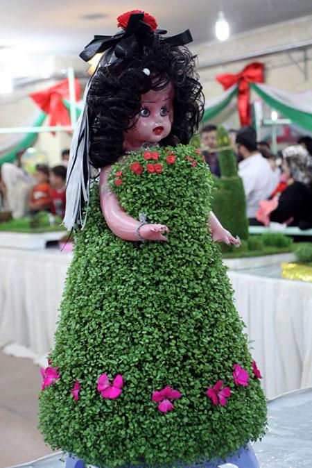 سبزه , تزیین سبزه ,سفره هفت سین, مدل سبزه 93, اموزش تزیین سبزه