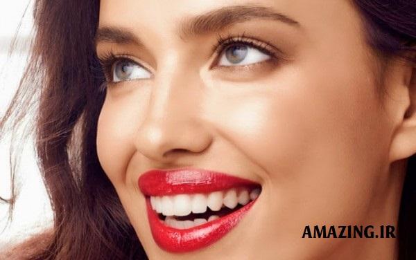 آرایش صورت ایرینا شایک,مدل آرایش صورت,مدل آرایش صورت زنانه,مدل آرایش صورت 2014