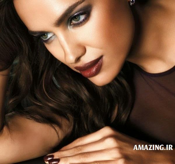 مدل صورت,مدل آرایش ,مدل آرایش ایرینا شایک,مدل آرایش 93 ,ایرینا شایک