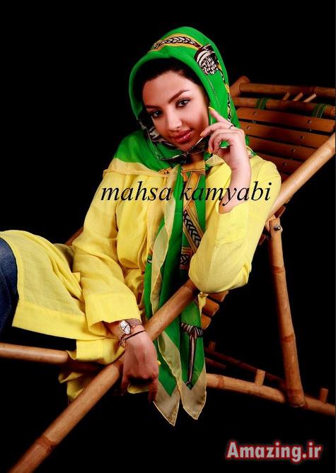 فیلم های مهسا کامیابی ,مدل لباس مهسا کامیابی ,عکس دختران مدل ایرانی,مهسا کامیابی 93