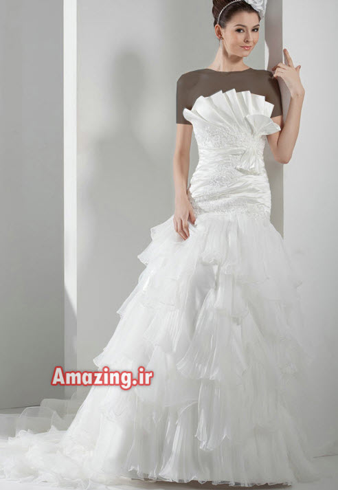 لباس عروس 2014 ,مدل لباس عروس جدید