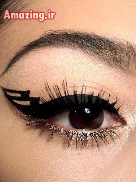 مدل خط چشم , خط چشم ,مدل خط چشم جدید ,خط چشم 2014
