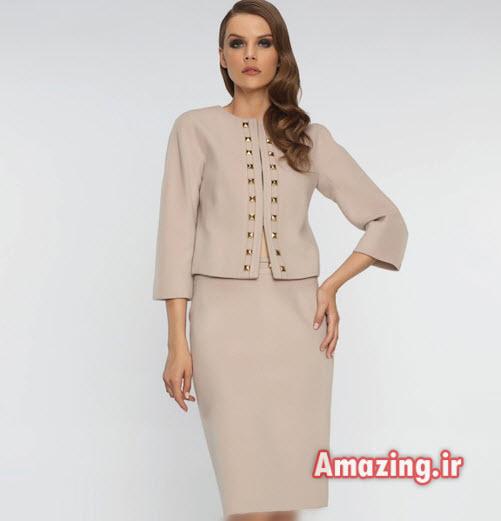 کت و دامن زنانه , مدل کت و دامن ساده,کت و دامن Balizza
