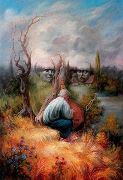 عکس خطای چشم,خطای چشم انسان,عکس جالب از خطای چشم
