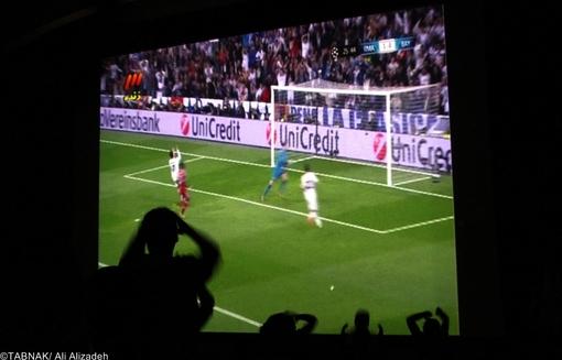 پخش زنده فوتبال در سینما,عکس, رئال مادرید, بایرن مونیخ