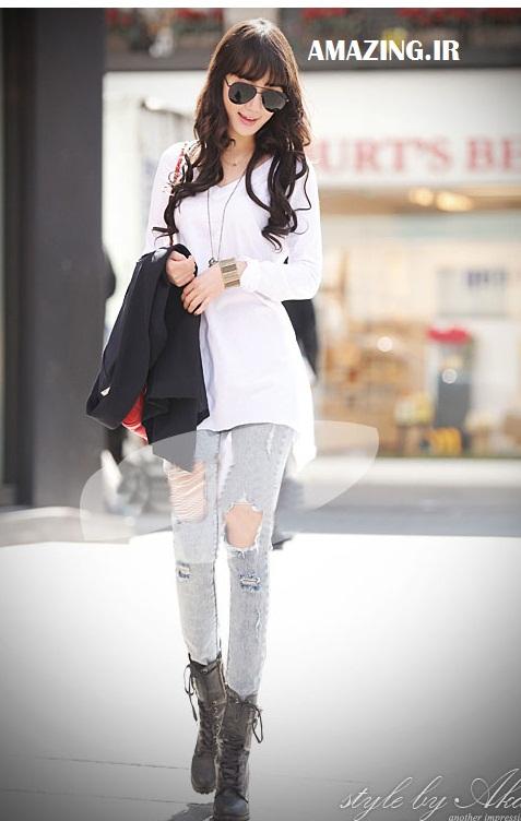 مدل لباس ,مدل لباس دخترانه ,مدل لباس کره ایی ,مدل لباس 2014 ,مدل لباس اسپورت